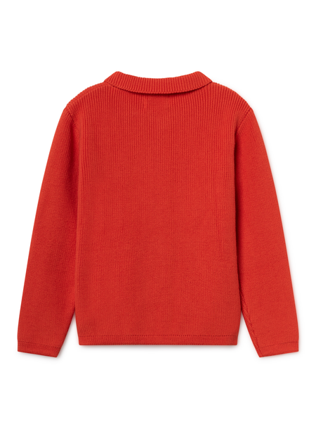 KIDS Bobo Choses Animals Cardigan - RED