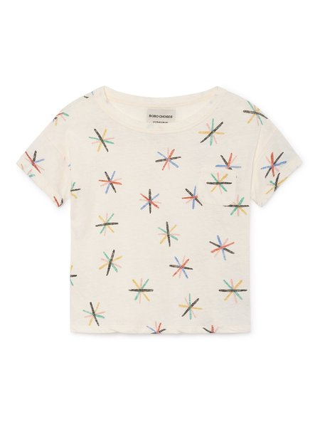 KIDS Bobo Choses Dandelion T-Shirt - White