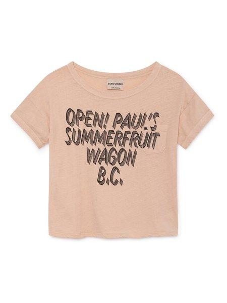 KIDS Bobo Choses Open T-Shirt - Peach