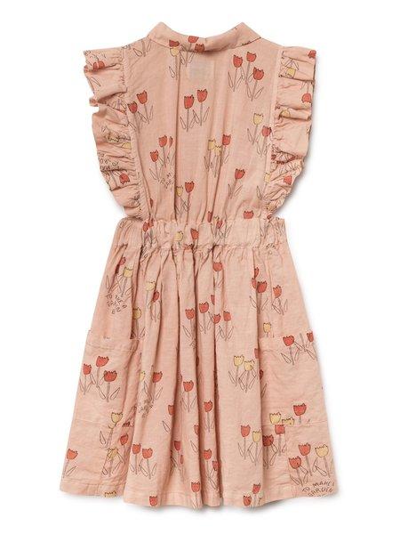 KIDS Bobo Choses Poppy Prairie Dress - Peach