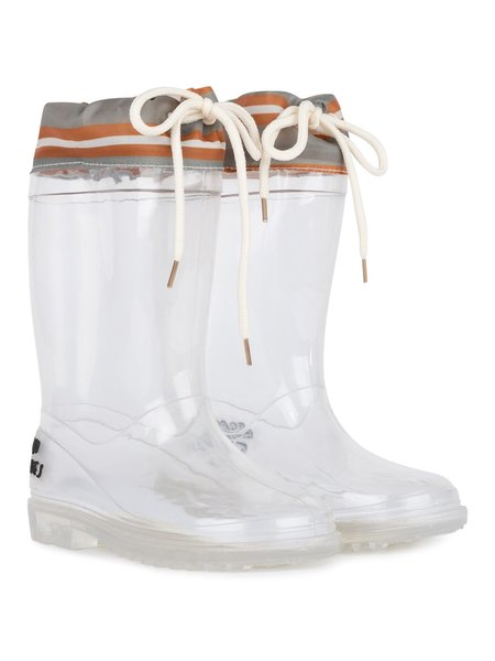 KIDS Bobo Choses Translucent Rain Boots - Translucent