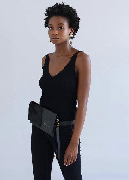 Thalia Strates Mali Clutch/Belt Bag - BLACK