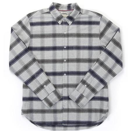 Bridge & Burn Sutton Shirt - Light Grey Plaid