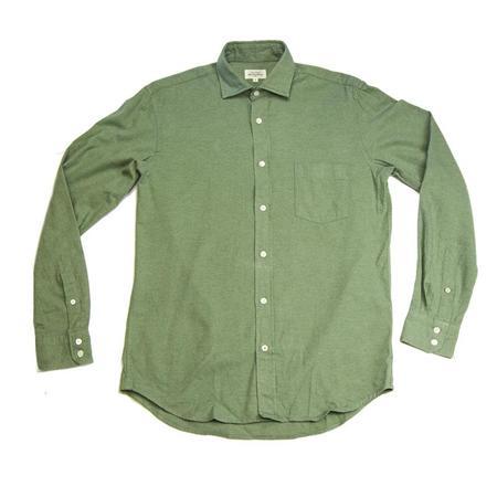 Hartford Paul Flannel - Light Green