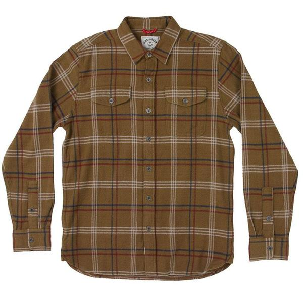 Iron and Resin Meridian Flannel Shirt