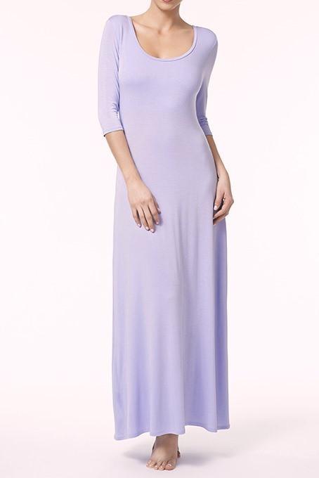 Fleurt 3/4 Sleeve Long Dress