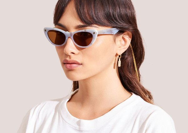 85bec95ee63 Lucy Folk Slice of Heaven Sunglasses - Icebergs