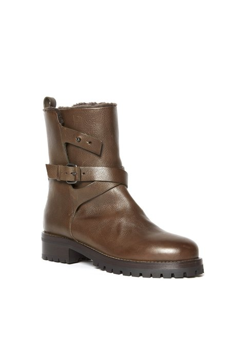 sartore cross strap low boot - Military