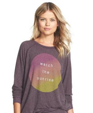 Junk Food - Watch The Sunrise Pullover Sweatshirt