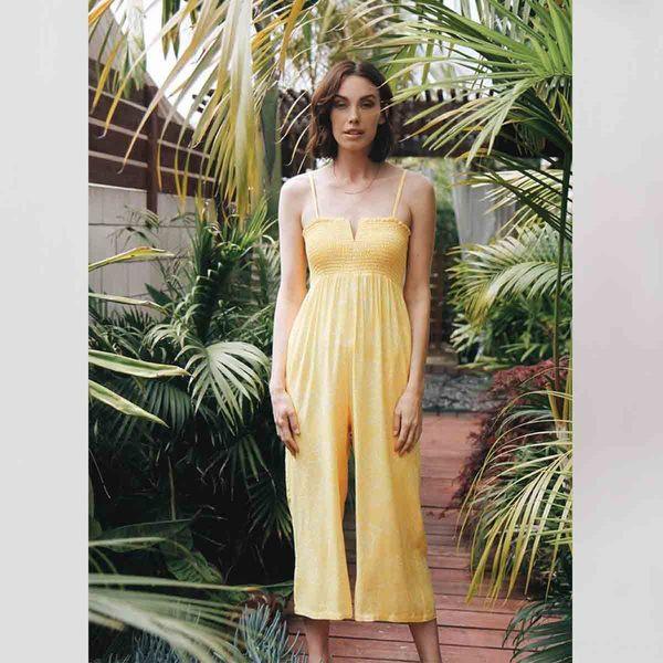 43627f1574fa Knot Sisters Pamela Jumpsuit - Sunshine Floral
