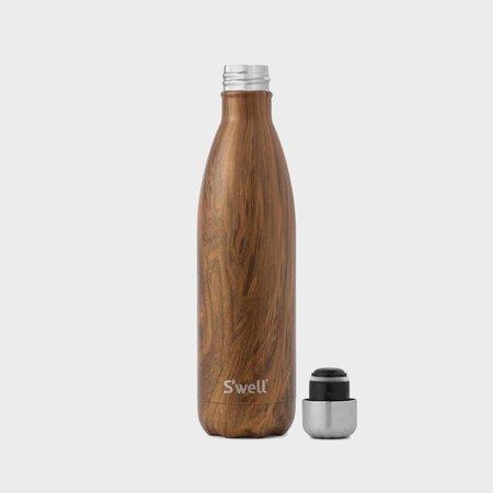 Swell Teakwood 25oz Vacuum-insulated bottle