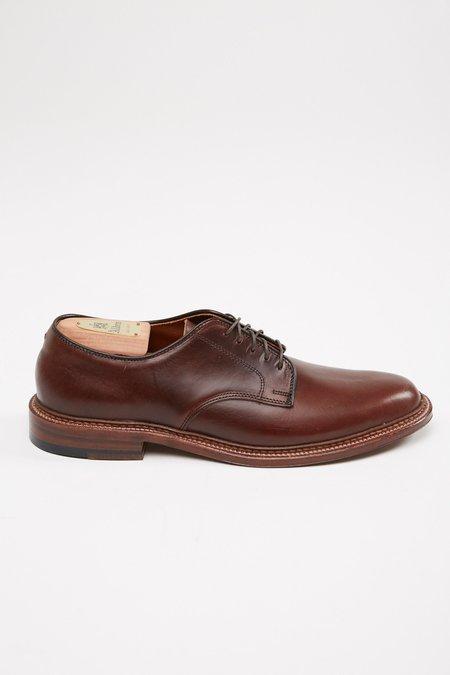Alden Plain Toe Blucher Aniline Pull-Up #29364F - Flex Dark Brown