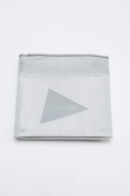 And Wander Cuben Fiber Wallet - White