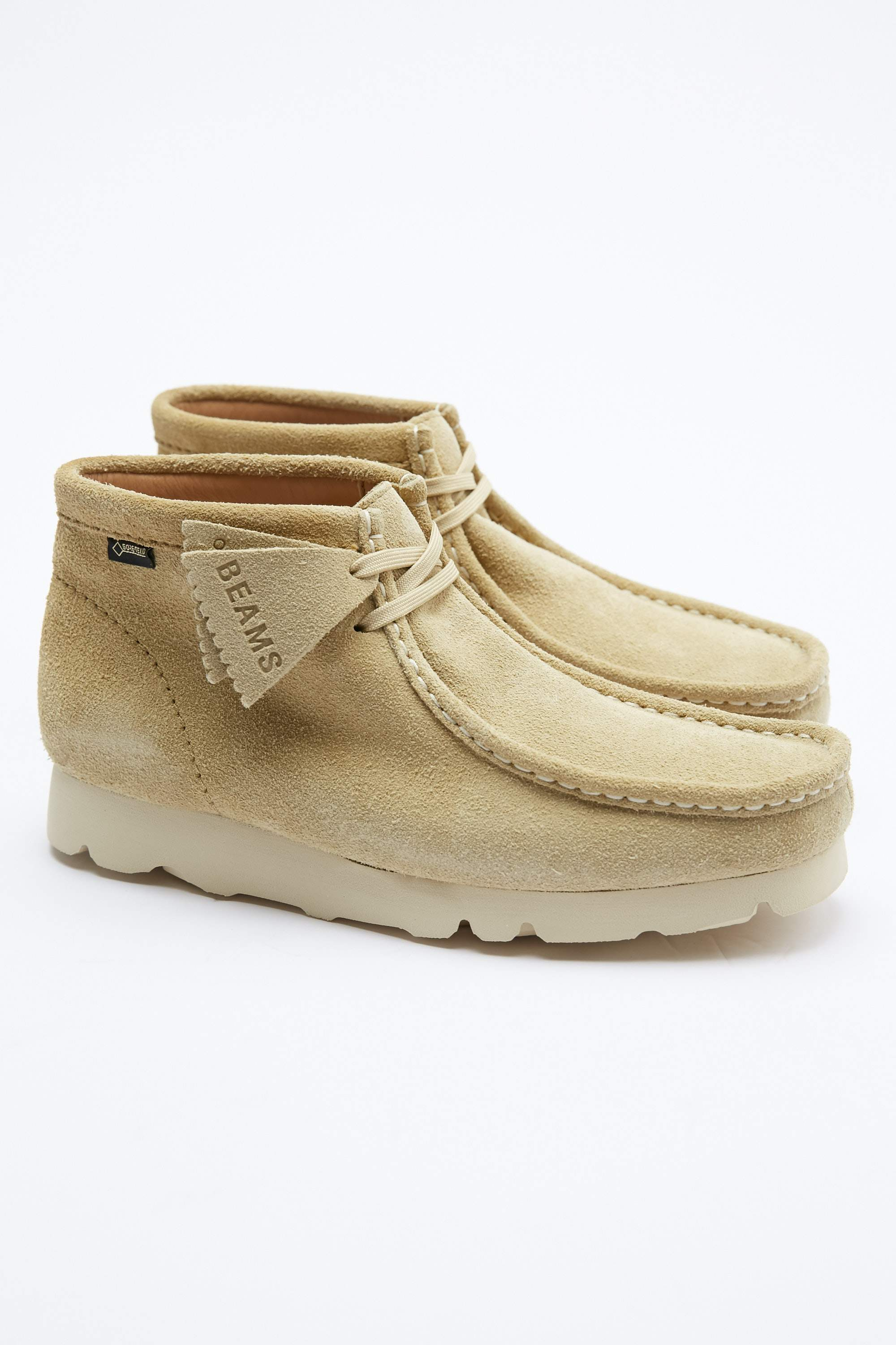 d57e04ce Clarks x BEAMS Gore-Tex Wallabee Boot - Maple