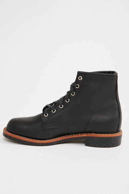 "Chippewa 6"" General Utility Service Boots - Black Odessa"