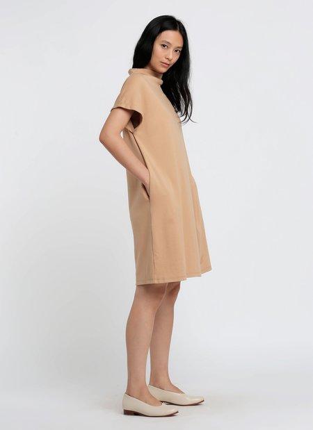 KAAREM Coralline Mockneck Organic Cotton Pocket Dress