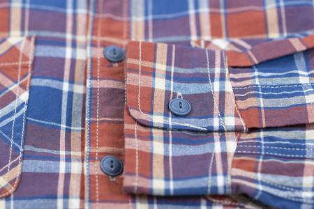 Alex Mill Plaid Chore Shirt - Orange/Blue
