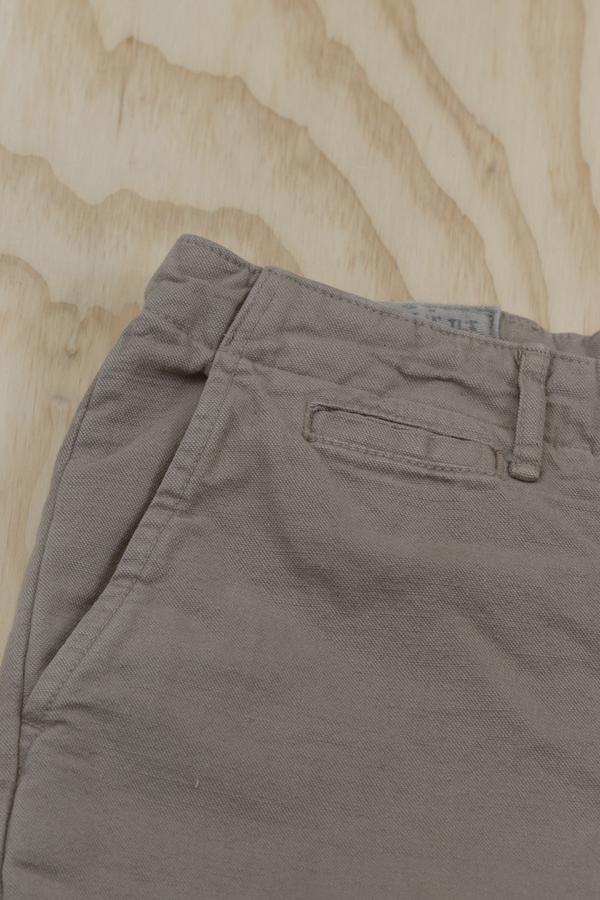 Billy Reid Jack Selvage Chino - Tea Wash