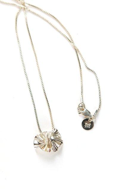 Tiro Tiro Flor Necklace - Silver