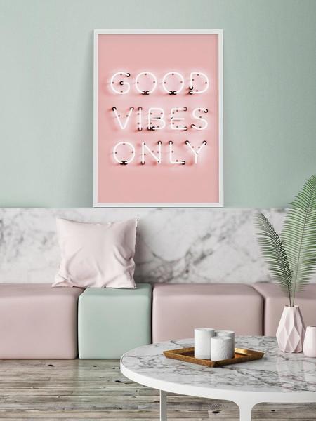 PETEK DESIGN Good Vibes Print