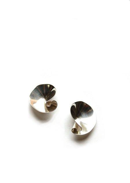 Tiro Tiro Selo Earrings - Silver