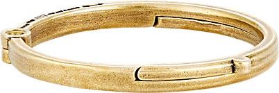 Giles & Brother Brass Latch Cuff Oval Bracelet