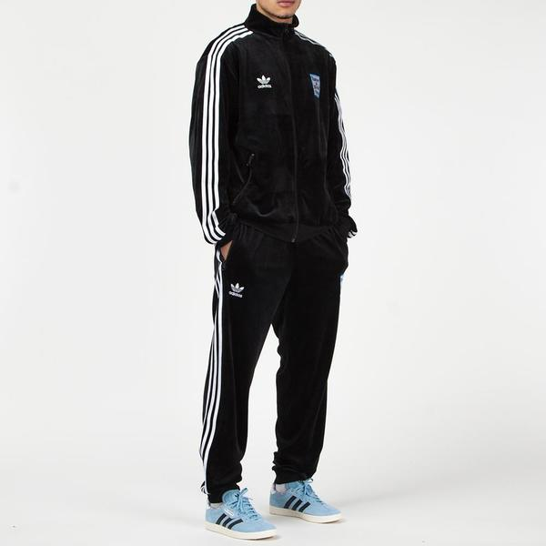 adidas by Have A Good Time Velour Track Pants Black on Garmentory