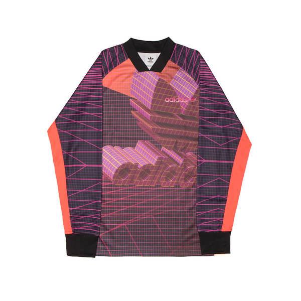 Adidas Originals 3D Goalie Long Sleeve Tee - Multicolor  6bcce29ec