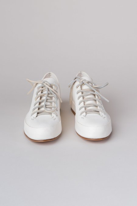 Feit Hand Sewn Low Sneakers - White