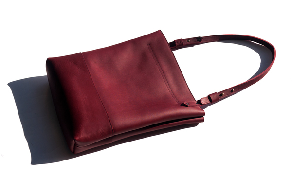 AW by Andrea Wong GRANVILLE TOTE - CRIMSON