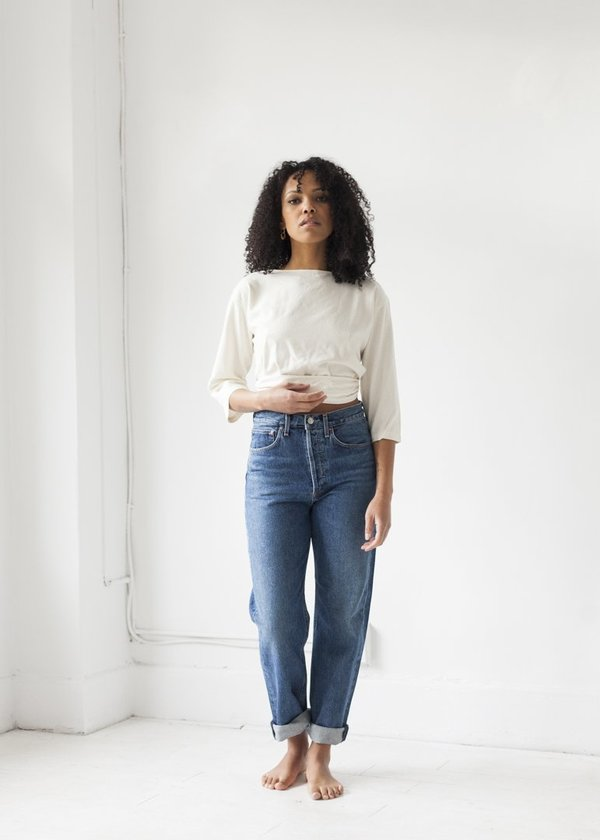 6452f1eedb80a1 AGOLDE 90's Mid Rise Loose Fit jean - Placebo   Garmentory
