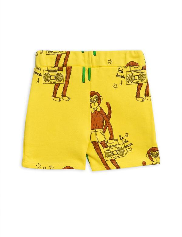 Kids Mini Rodini Cool Monkey Sweatshorts