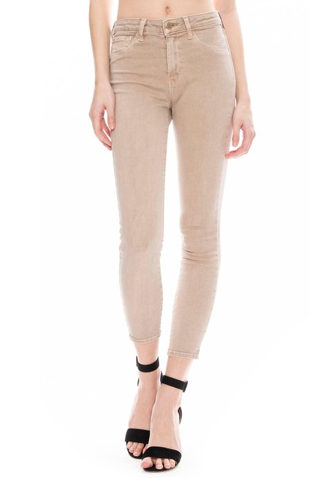 L'agence The Margot High Rise Ankle Skinny - Biscuit