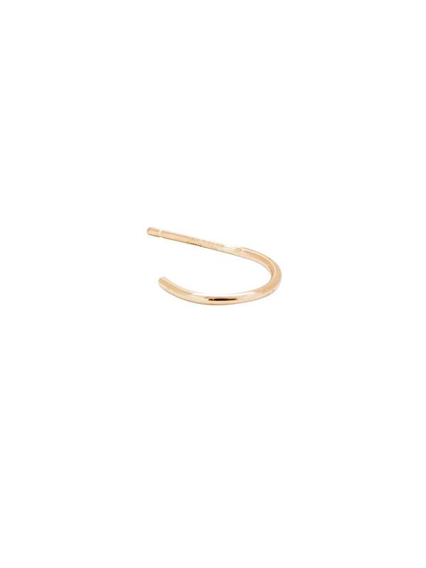 In God We Trust 14k Gold Hoop Stud Earring   Garmentory