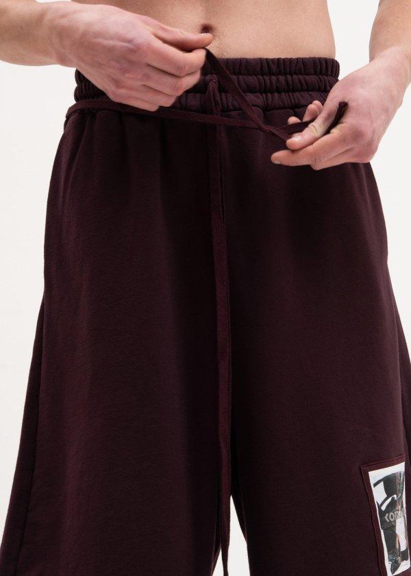 Komakino Fleece Scraps Shorts - Cherry