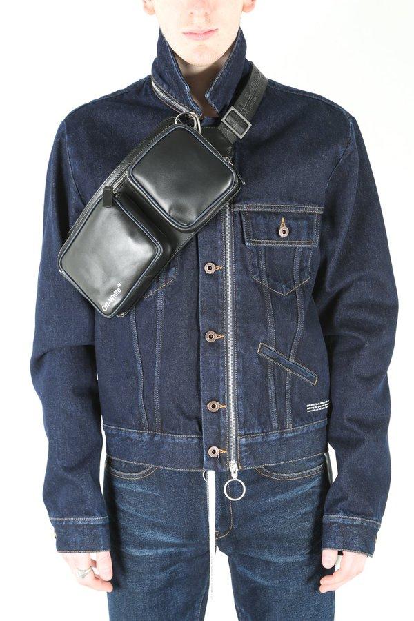 96a6b7e01 Off-White c/o Virgil Abloh Leather Hip Belt Bag | Garmentory