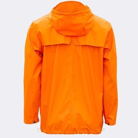Unisex Rains Breaker Jacket - Fire Orange