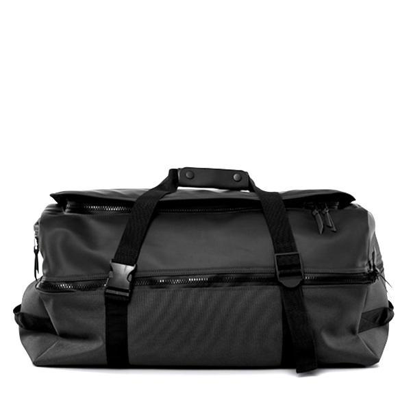 79442a8d4a4 Unisex Rains Large Duffel Backpack - Black   Garmentory