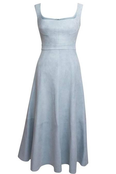 Alejandra Alonso Rojas Itziar Dress - Powder Blue