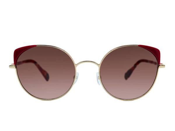 WOOW eyewear Super Fine 1 Sunglasses - GOLD/FUSCHIA