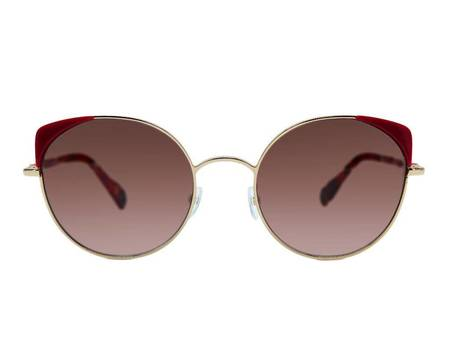 WOOW eyewear Super Fine 1 Sunglasses - GOLD/FUSCHIA