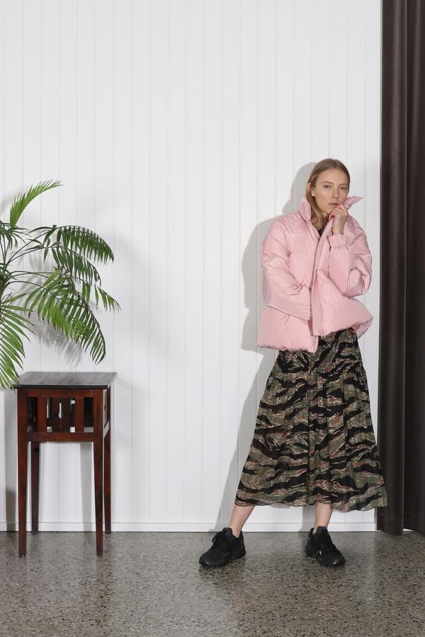6d666605b0a3a Ganni Whitman Puffer Jacket - Pink | Garmentory