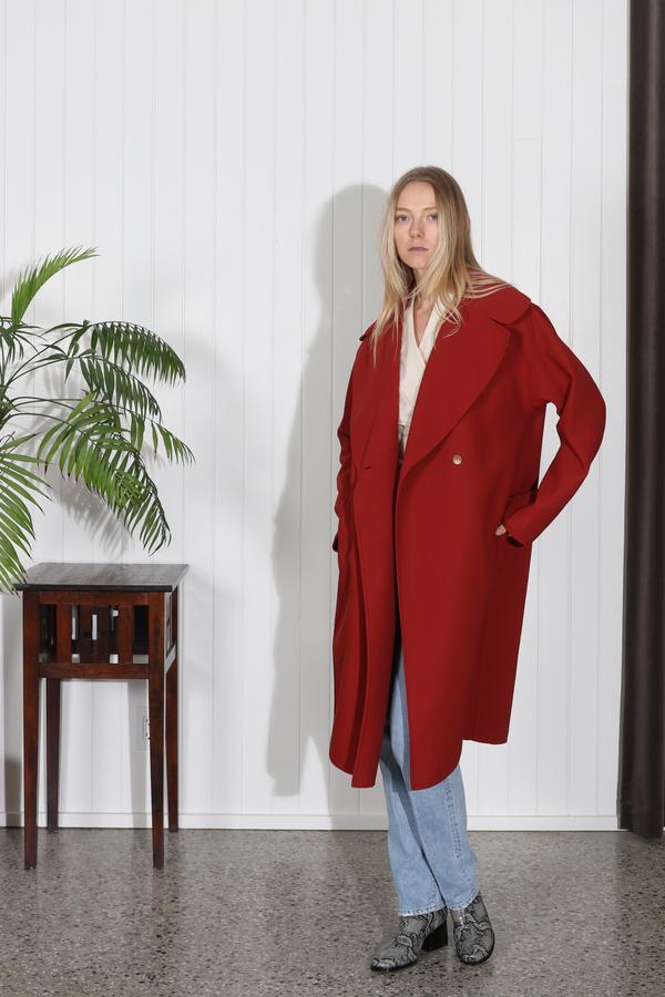 Rachel Comey Release Coat - Rust