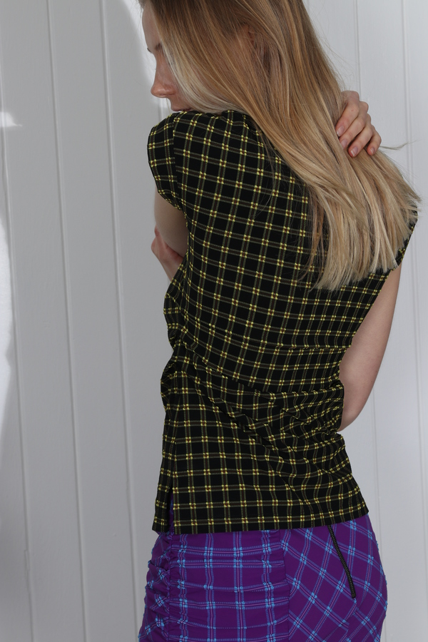 Rachel Comey Twist Skirt - Purple