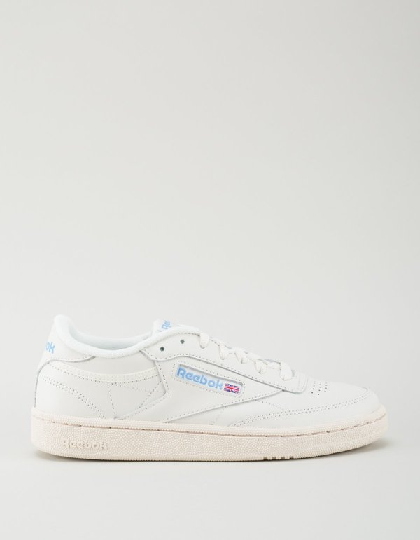 Buy reebok classics white club 85 vintage sneakers | Up to