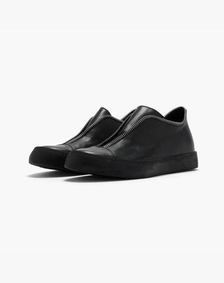 Unisex South Lane Stockholm Avant Raw Low Top Sneaker - Black