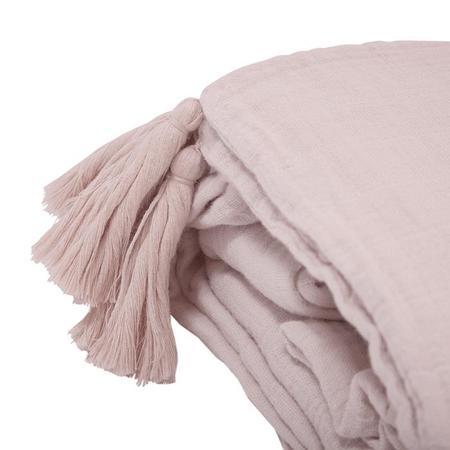 KIDS Moumout Paris Crib Duvet Cover And Pillow Case Set - Nu Pink