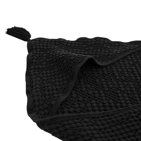 Kids Moumout Paris Sybel Bee Hooded Towel - Ink Black