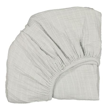 Moumout Paris Twin Bed Fitted Sheet - Almond Green