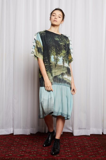 Salasai Dreamscape T Dress - Dreamers Print
